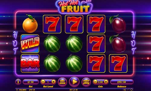 Hot Hot Fruit slot Habanero