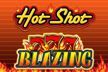 Hot Shot Progressive Blazing 7s slot free play demo