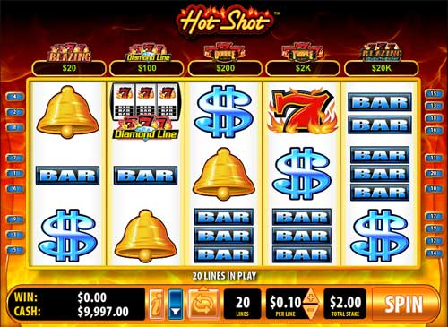 hot shot slots blazing 7s for windows