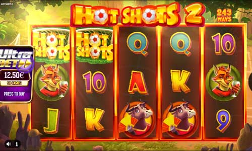Hot Shots 2 Videoslot Screenshot