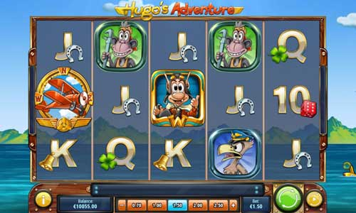 Hugos Adventure Videoslot Screenshot