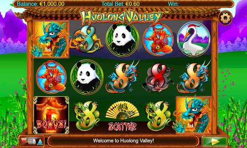 Huolong Valley Videoslot Screenshot