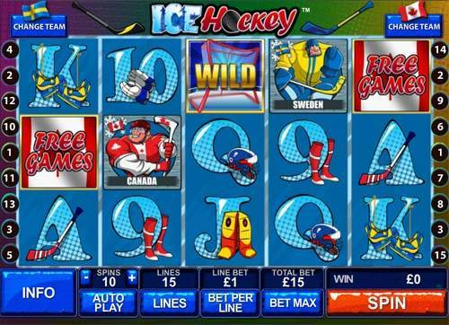 Play Ice Hockey online slots at Casino.com