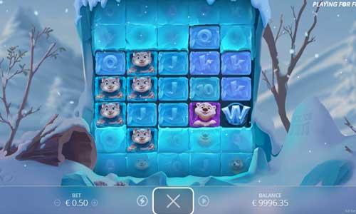 Ice Ice Yeti Videoslot Screenshot
