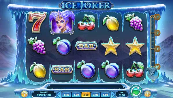 Ice Joker Videoslot Screenshot