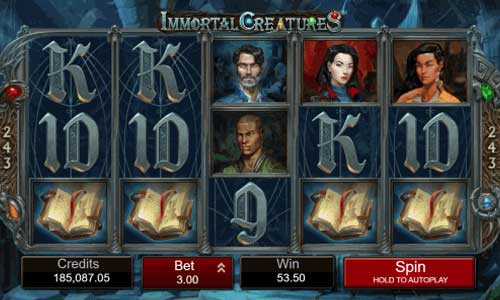 immortal creatures slot review