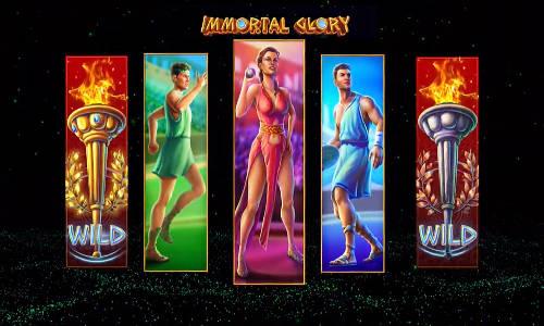 Immortal Glory Videoslot Screenshot