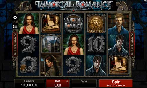 immortal romance slot overview and summary