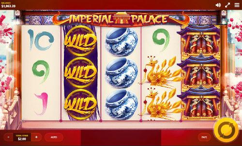 Imperial Palace Videoslot Screenshot