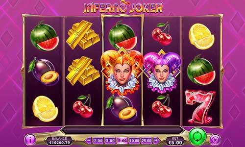 Inferno Joker Videoslot Screenshot