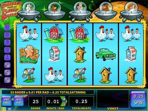 Invaders from the Planet Moolah slot free play demo
