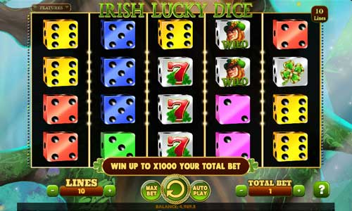 Irish Lucky Dice slot