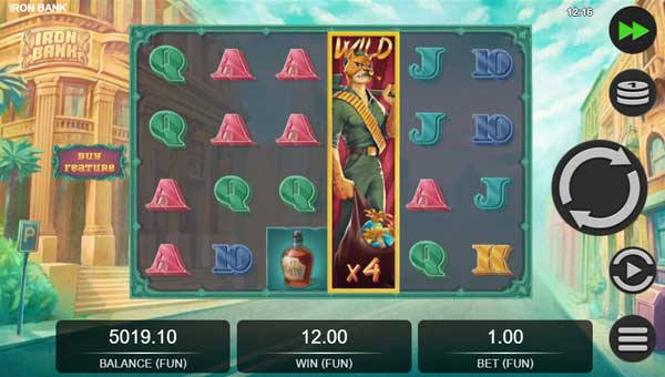 iron bank slot overview and summary