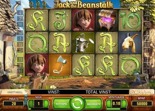 Jack and the Beanstalk slot free play demo