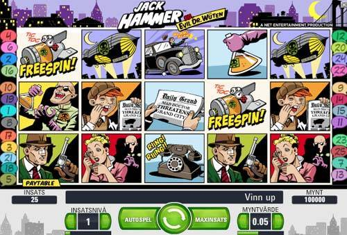 Jack Hammer slot free play demo