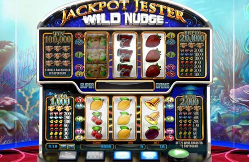 Jackpot Jester Wild Nudge slot