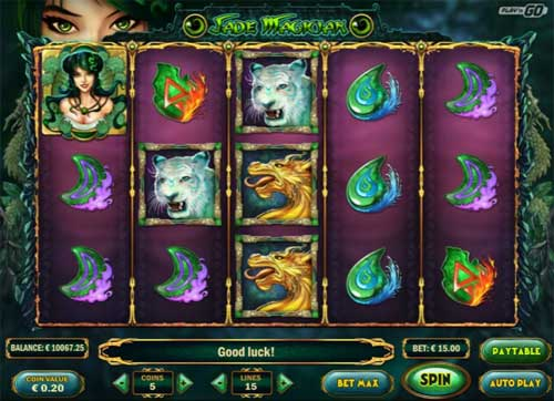 Jade Magician Videoslot Screenshot