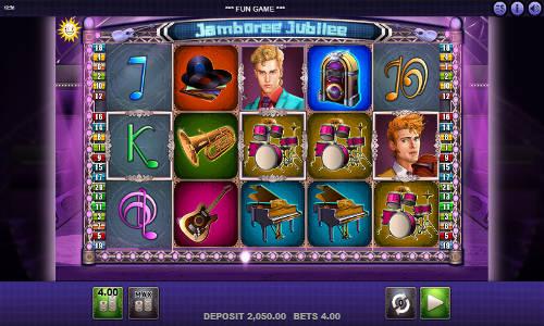 Jamboree Jubilee Videoslot Screenshot