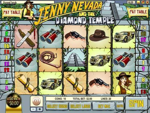 Diamond Temple slot free play demo