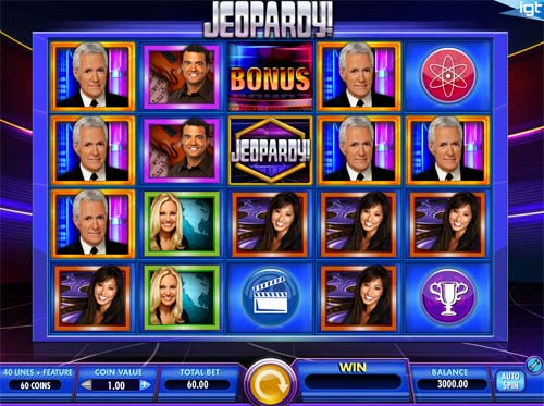 Jeopardy slot