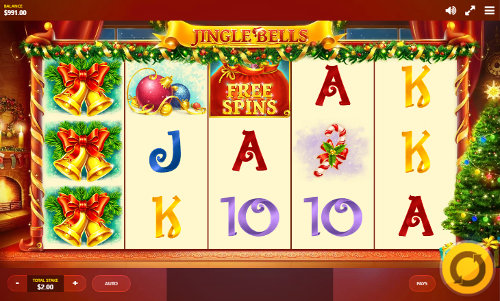 Jingle Bells Videoslot Screenshot