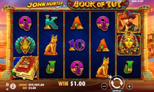 John Hunter and the Book of Tut Videoslot Screenshot