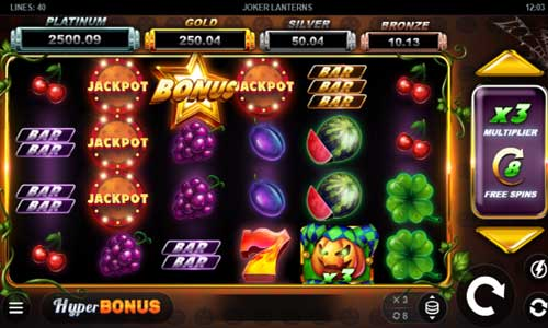 Joker Lanterns Videoslot Screenshot
