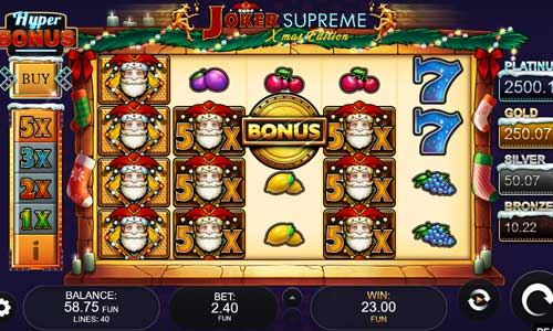 Joker Supreme Xmas Edition slot