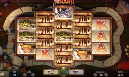 Jumanji Videoslot Screenshot