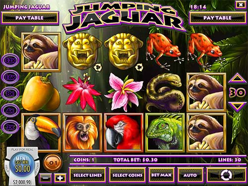 Jumping Jaguar Slot - Play the Online Version for Free
