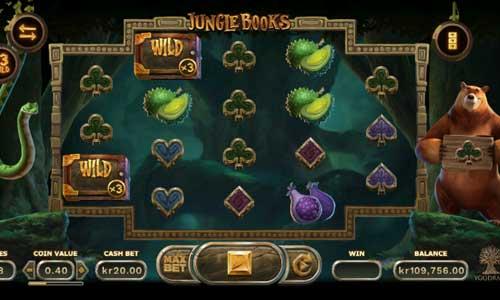 Jungle Books Videoslot Screenshot