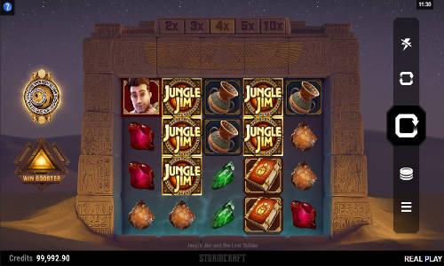 Jungle Jim and the Lost Sphinx slot