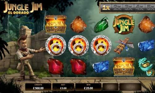 Jungle Jim El Dorado slot