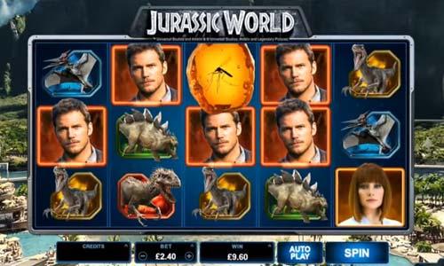 Jurassic World Videoslot Screenshot