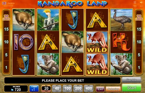 novomatic online casino kangaroo land