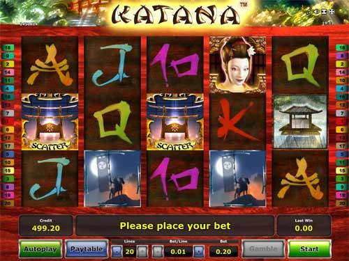 Slot Katana Online