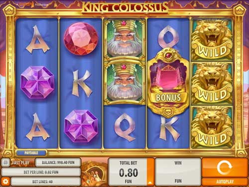 King Colossus™ Slot Machine Game to Play Free in QuickSpins Online Casinos