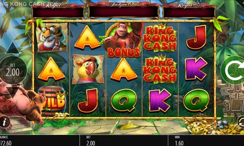 King Kong Cash Jackpot King slot
