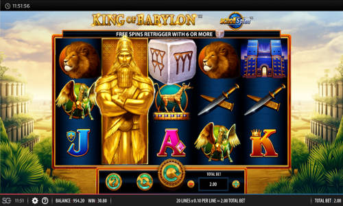 King of Babylon slot
