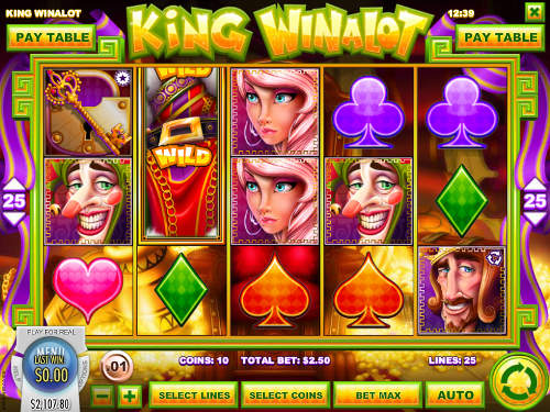 King Winalot slot