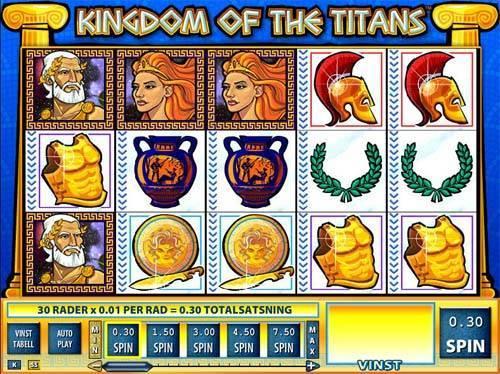 Kingdom of the Titans slot