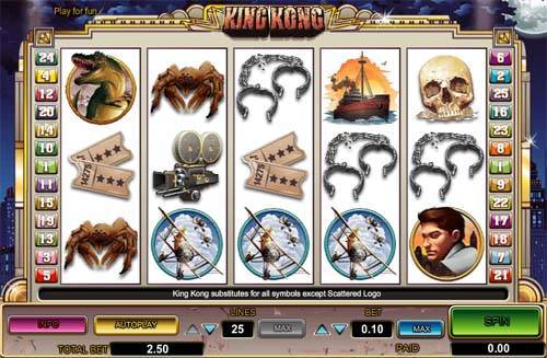 King Kong slot