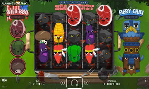 Kitchen Drama BBQ Frenzy slot