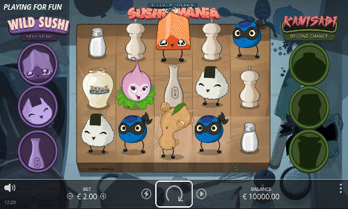 Kitchen Drama Sushi Mania slot