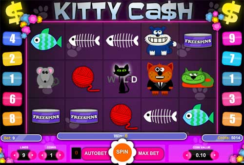 Kitty Cash slot