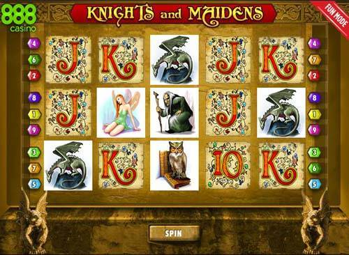 Knights of Glory Slot - Try your Luck on this Casino Game