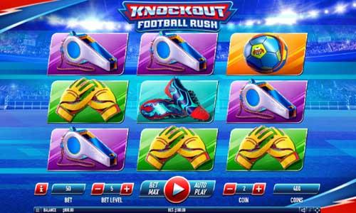 Knockout Football Rush Videoslot Screenshot