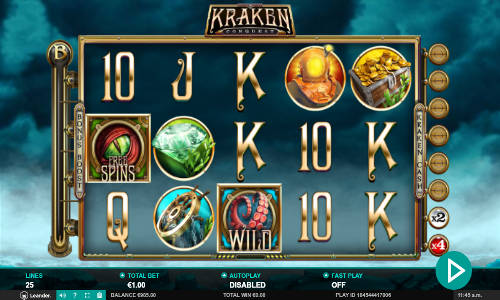 Kraken Conquest slot