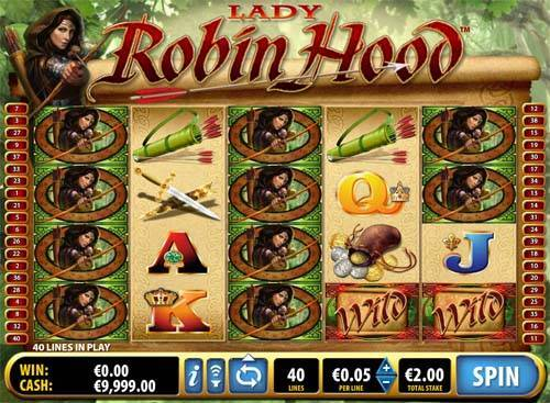 Lady Robin Hood slot free play demo is not available.