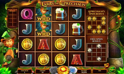 Larry the Leprechaun slot Wazdan